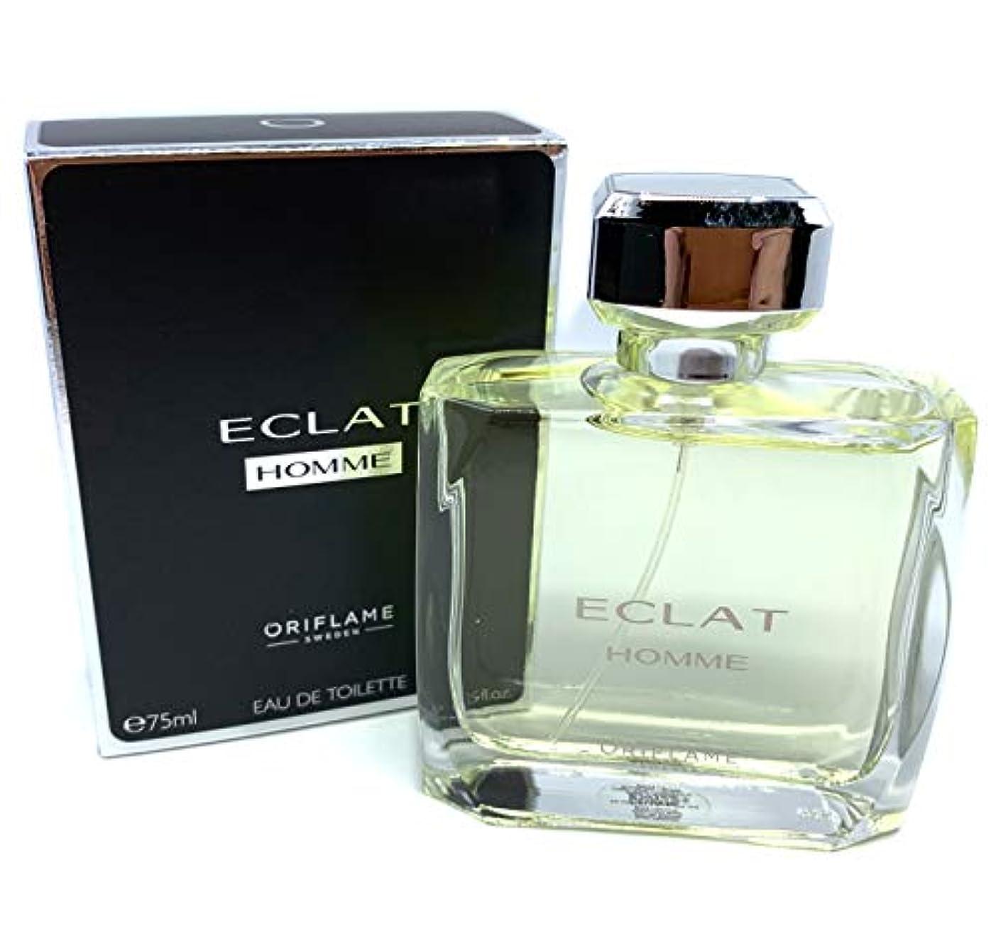 北米強制ダウンタウンORIFLAME Eclat Homme Eau De Toilette Natural Spray For Him 75ml - 2.5oz