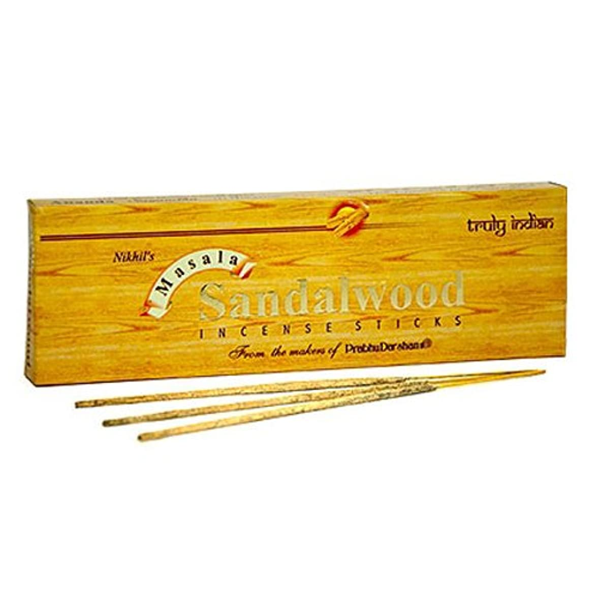 深さガジュマルアスペクトNikhil Sandalwood Incense – 2パック、50グラム1パック