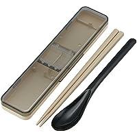 コンビセット 箸 スプーン セット レトロフレンチ ブラック 日本製 CCS3SA
