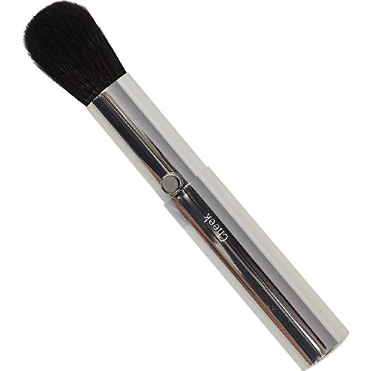 八百屋黙認する批判的SSS-C2 六角館さくら堂 スタイリッシュシンプルチークブラシ 粗光峰100% 高品質のスライドタイプ化粧筆