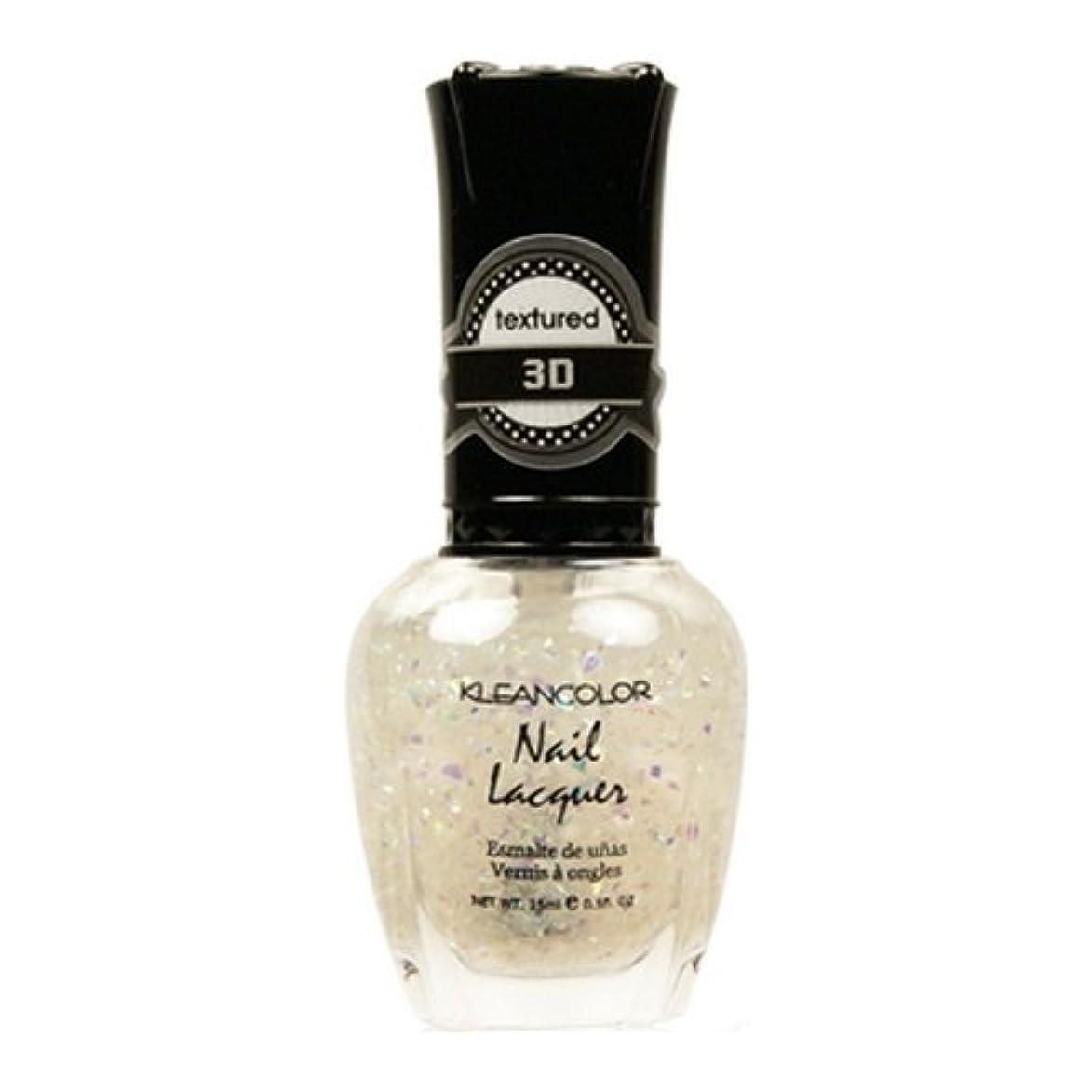 怒っているチート解明(3 Pack) KLEANCOLOR 3D Nail Lacquer - Sugar Factory (並行輸入品)