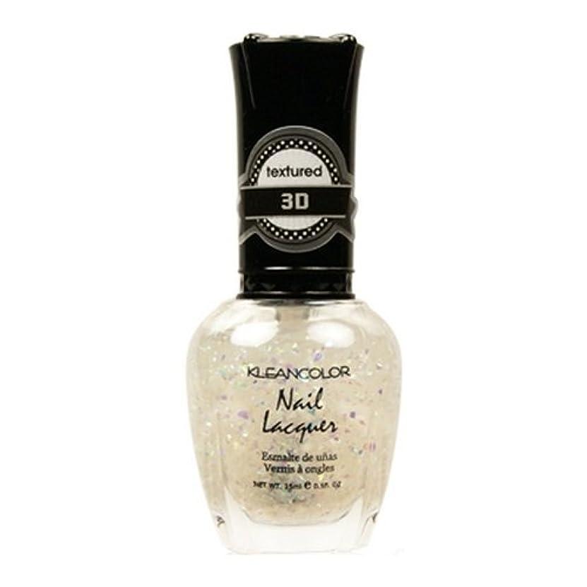 実り多い保存する決済(3 Pack) KLEANCOLOR 3D Nail Lacquer - Sugar Factory (並行輸入品)