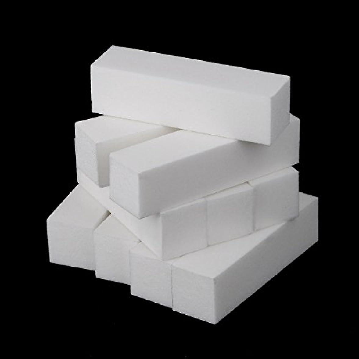 従順な限られた質素なDecdeal 10個入り ネイルファイル ネイルバッファー ネイルファイル 爪やすり ネイルケア 研磨ブロック