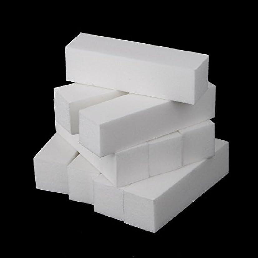 日常的に誠実さミリメートルDecdeal 10個入り ネイルファイル ネイルバッファー ネイルファイル 爪やすり ネイルケア 研磨ブロック