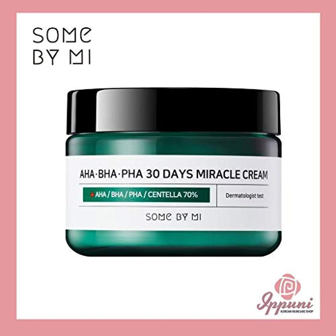 凝視鉄道駅淡いSomebymi AHA BHA PHA Miracle Cream 50ml (1.7oz) Skin Barrier & Recovery, Soothing with Tea Tree 10,000ppm for...