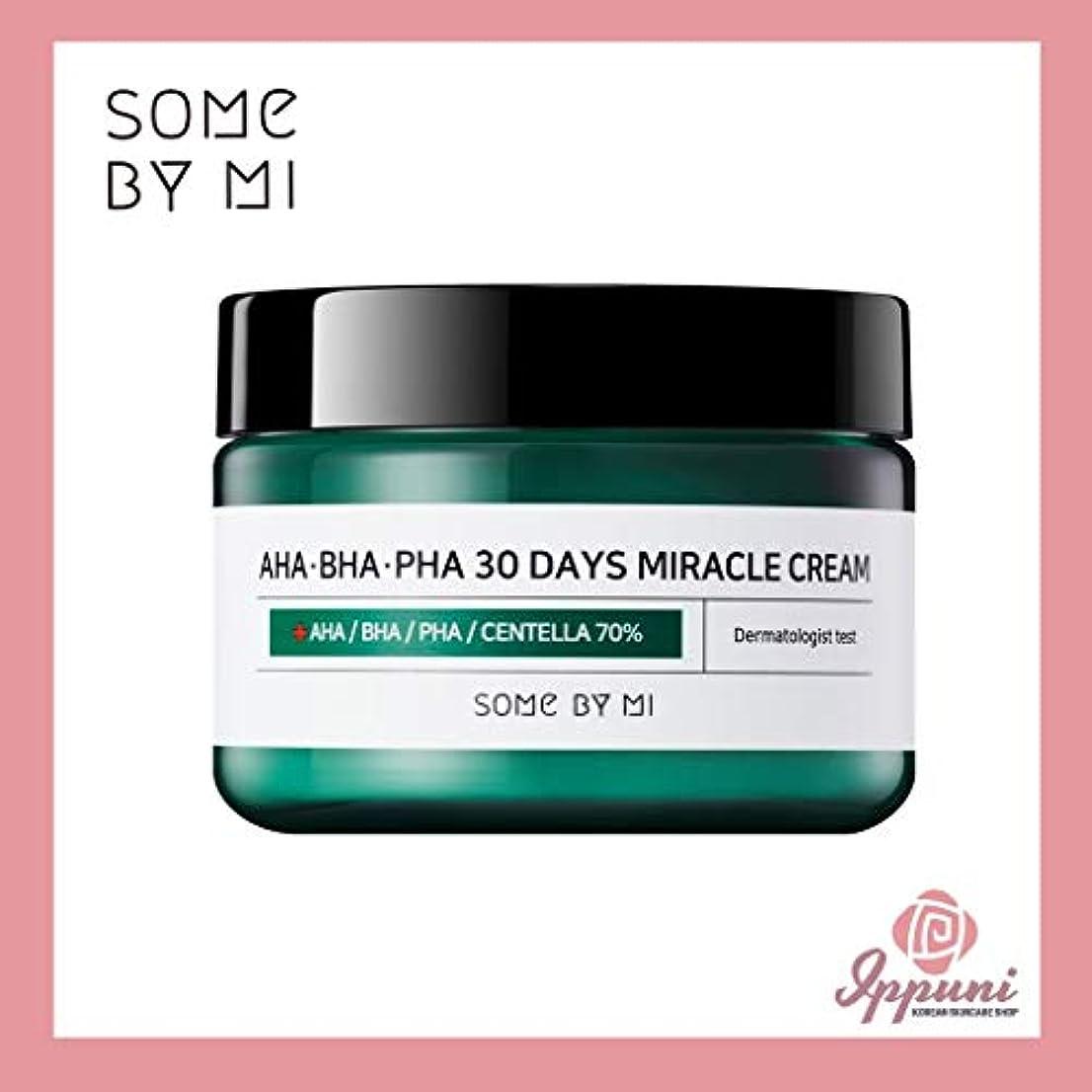 うなずくプレゼン必需品Somebymi AHA BHA PHA Miracle Cream 50ml (1.7oz) Skin Barrier & Recovery, Soothing with Tea Tree 10,000ppm for...