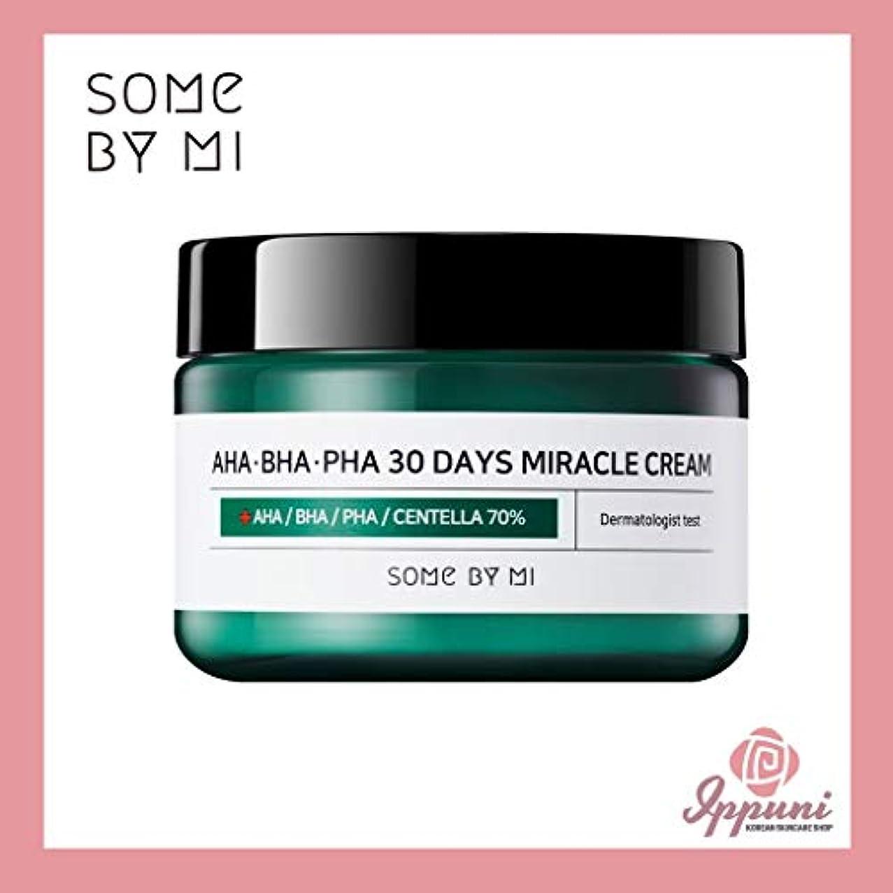 スプーン最近細心のSomebymi AHA BHA PHA Miracle Cream 50ml (1.7oz) Skin Barrier & Recovery, Soothing with Tea Tree 10,000ppm for...