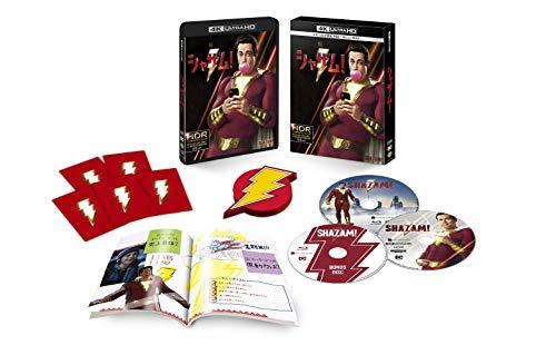 シャザム! プレミアム・エディション 4K ULTRA HD & ブルーレイセット (限定生産/3枚組/ブックレット付) [Blu-ray]の詳細を見る