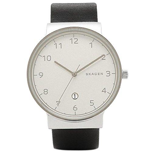 スカーゲン 時計 SKAGEN SKW6291 ANCHER アンカー メンズ腕時計 ウォッチ シルバー/ブラック [並行輸入品]