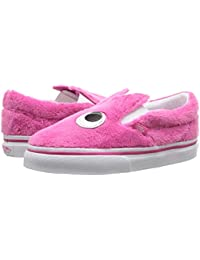 [VANS(バンズ)] キッズスニーカー?靴 Slip-On Friend (Infant/Toddler) (Party Fur) Magenta/True White 7.5 Toddler (15cm) M