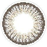 loveil( ラヴェール )【 アッシュグレージュ 】 カラコン 1day 1箱30枚入 14.2mm 【 度あり 】 【PWR】-1.75