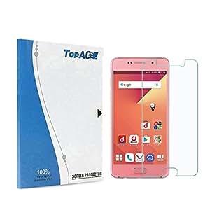 TopACE Galaxy Feel SC-04J 専用強化ガラスフィルム 硬度9H 超薄0.33mm 2.5D 耐衝撃 撥油性 超耐久 耐指紋 飛散防止処理保護フィルム