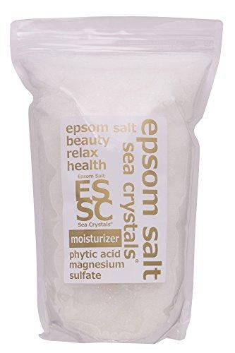 エプソムソルト モイスチャライザー 2.2kg 入浴剤 浴用化粧品 フィチン酸配合 シークリスタルス 計量スプーン付