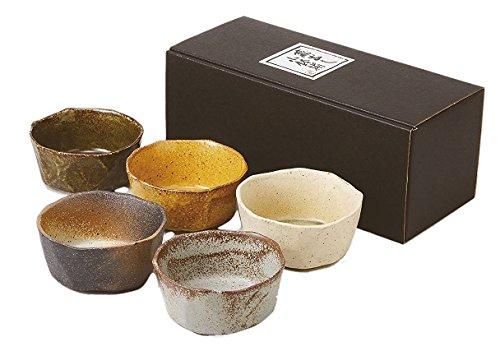 蔵出し 角小鉢揃 小鉢 5客セット 美濃焼
