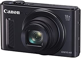 Canon デジタルカメラ PowerShot SX610 HS ブラック 光学18倍ズーム PSSX610HS(BK)