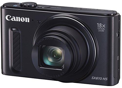 Canon デジタルカメラ PowerShot SX610 HS ブラック ...