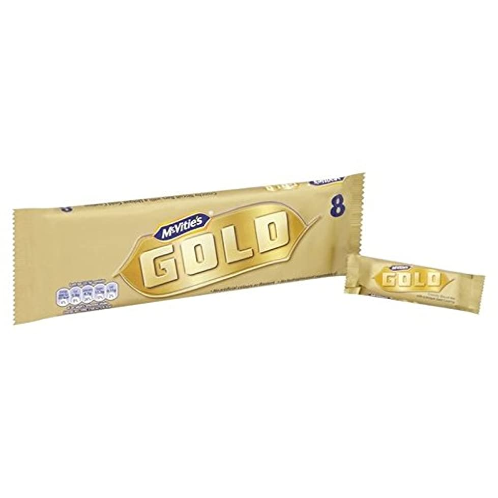 植物の欠かせないアンデス山脈マクビティ金の延べ棒8×22グラム (x 4) - McVitie's Gold Bars 8 x 22g (Pack of 4) [並行輸入品]