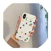iphoneケース カバー 面白い アニメ ケース iphone Xs MAX Xr X 6 6 s 7 8 バックカバー かわいい ソフト シリコン 電話ケース,For iPhone 7,2