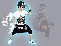 キッズ ヒップホップ ダンス衣装 ダンスウェア 子供用 キッズ 男の子 トップス サルエルパンツ ジュニア ジャージ セットアップ HIPHOP ジャズダンス ジャズ ストリート系