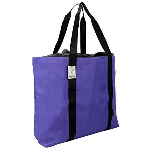 [ビップライン]VIP LINE 大容量 トートバッグ 巾着タイプ VL-0523 (パープル)