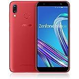 エイスース ASUS ZenFone Max (M1) ルビーレッド[5.5インチ/メモリ 3GB/ストレージ 32GB] ZB555KL-RD32S3