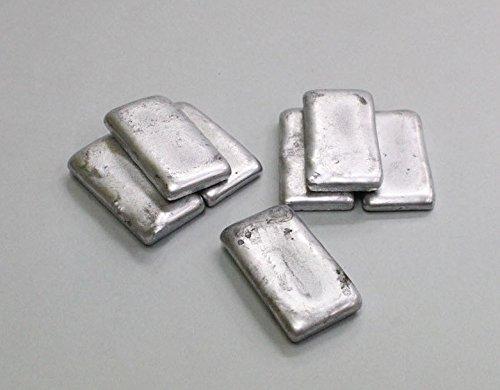 鋳金材料 鋳造用メタル 亜鉛合金インゴット 約1kg
