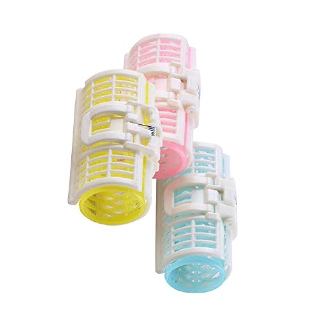 回想ソフトウェア子供っぽい3つの大きな爆発ツールのヘアケア製品の耐久性のあるプラスチック製のヘアカーラーヘアクリップ