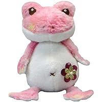 かえるのパンチャ ローザ (S) ぬいぐるみ  座高13cm ピンク