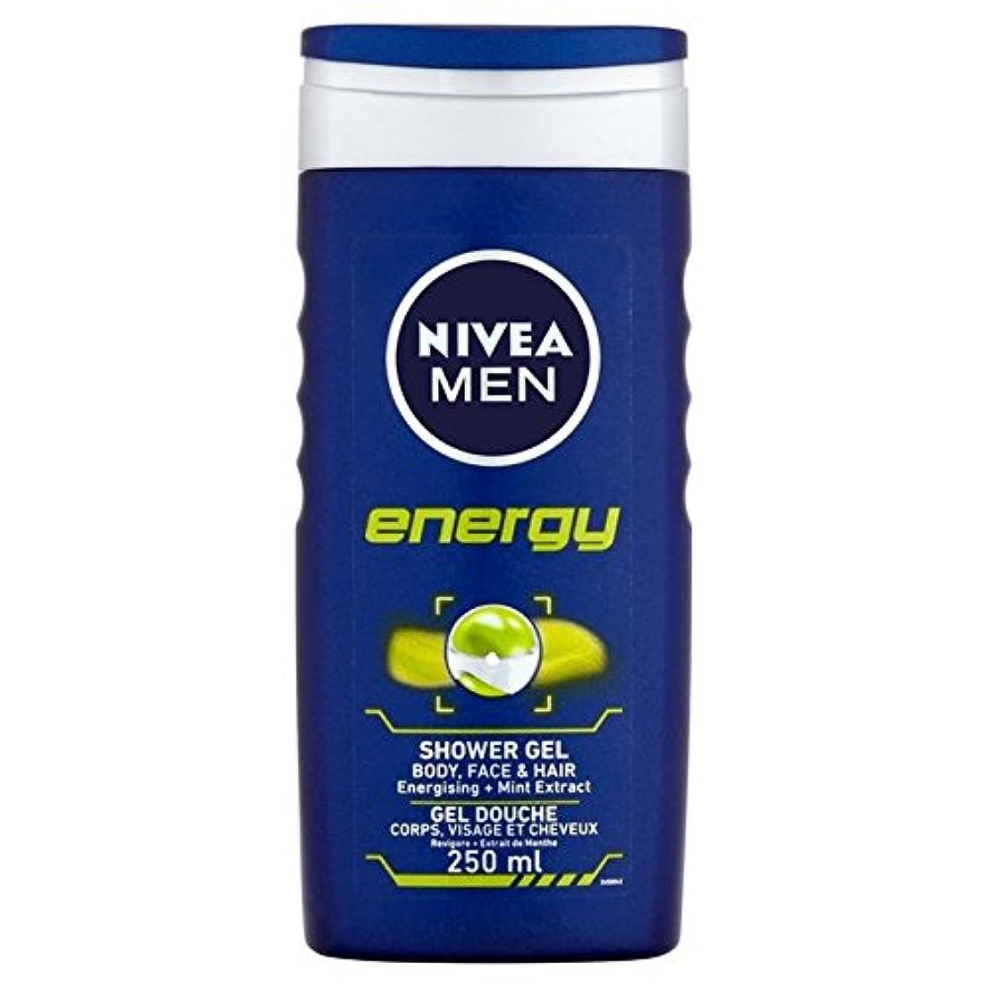 保証金フラッシュのように素早く歴史的Nivea Men Energy 2 in 1 Shower 250ml - 1つのシャワー250ミリリットル中ニベアの男性のエネルギー2 [並行輸入品]
