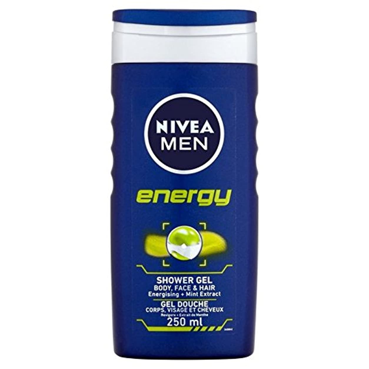真面目な論理的新しい意味Nivea Men Energy 2 in 1 Shower 250ml - 1つのシャワー250ミリリットル中ニベアの男性のエネルギー2 [並行輸入品]