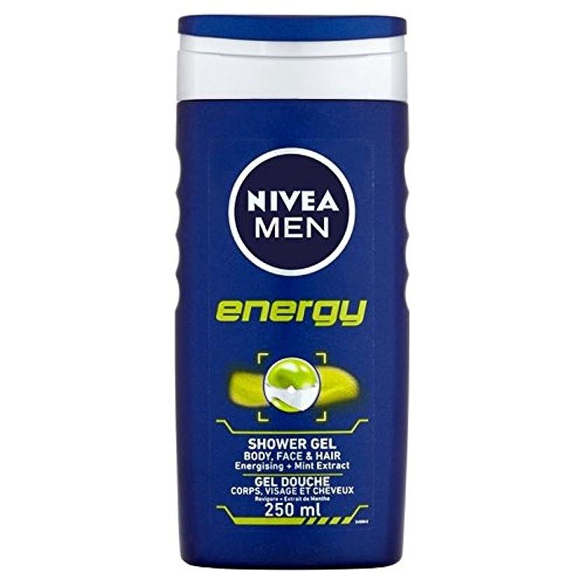 ビザ撤回する食い違いNivea Men Energy 2 in 1 Shower 250ml - 1つのシャワー250ミリリットル中ニベアの男性のエネルギー2 [並行輸入品]