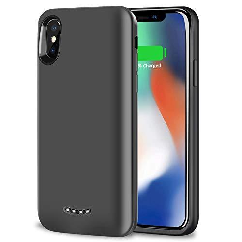 iPhoneX バッテリー内蔵ケース 6000mAh ケース型バッテリー BeeFix 充電ケース 大容量 200% バッテリー容量...