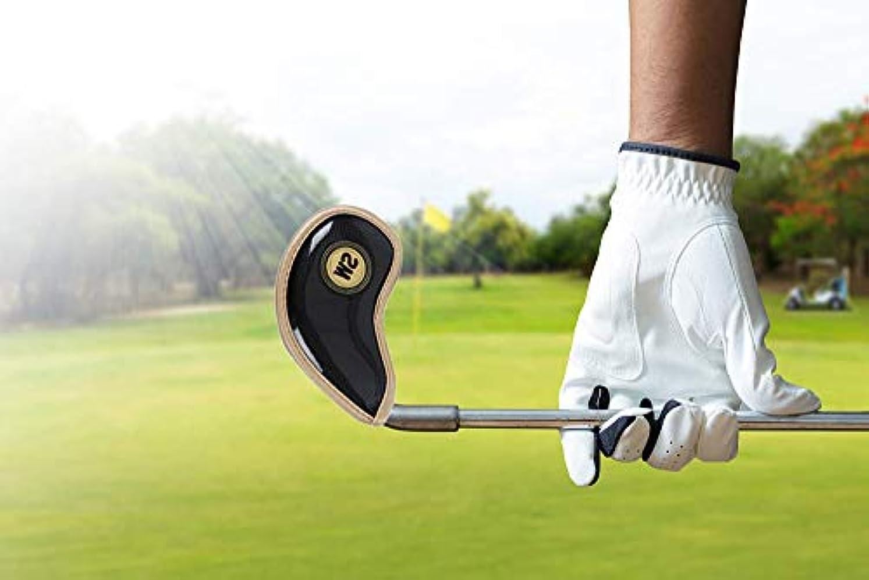 草線ウナギゴルフアイアンは、オプションの5色の10本のスティックを裏打ちする クリスタル生地を厚く設定します,Black