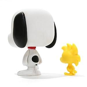 PEANUTS(ピーナッツ)  Snoopy and Woodstock(スヌーピー&ウッドストック) POP VINYL フィギュア [並行輸入品]