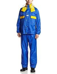 アーヴァン 左団扇 全11色 全4サイズ 上下スーツ ブルー LL 反射テープ付き #5670 [正規代理店品]