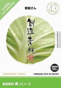 創造素材 食(43)野菜さん