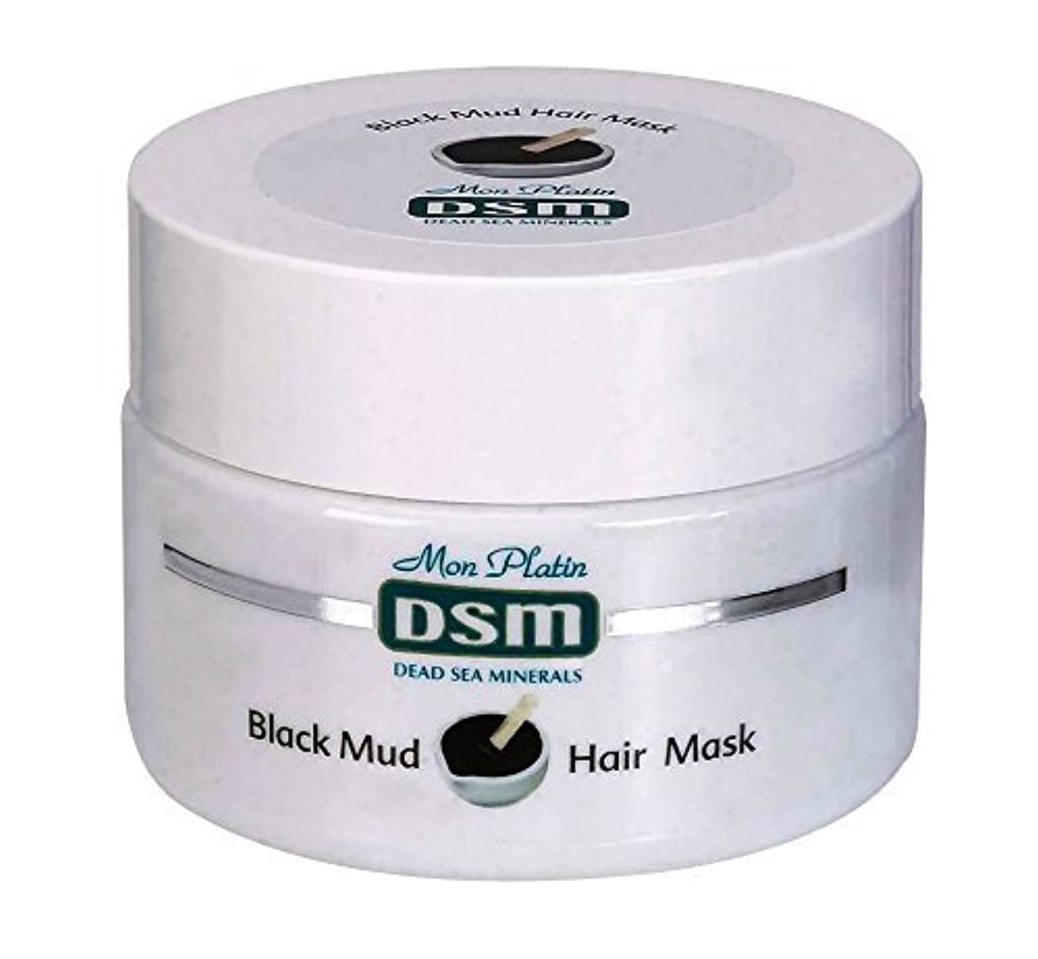 現れる雄弁家描写頭皮と髪のための髪の泥マスク 250mL 死海ミネラル 天然 お手入れ 美容 イスラエル 全皮膚タイプ ビタミン (Mud Hair Mask  for Scalp & Hair)