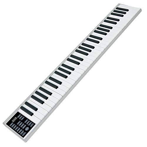 ニコマク(NikoMaku) 電子ピアノ 携帯型 SWAN 61鍵 軽量小型 本当のピアノと同じサイズ ワイヤレス長時間利用可能 練習にピッタリ 収納バッグ付き MIDI対応 B07KT4951G 1枚目