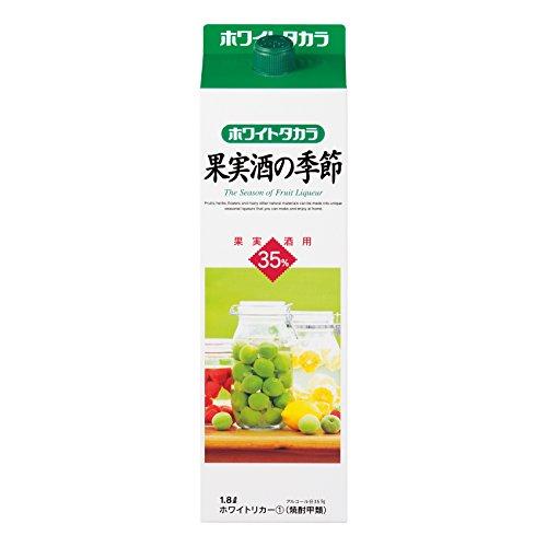 宝 35% 果実酒の季節 1.8L 紙パック