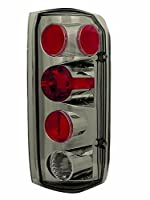 IPCW CWT-CE501ACS Crystal Eyes Platinum Smoke Clear Eyes Tail Lamp - Pair [並行輸入品]