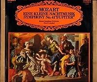 Eine Kleine Nachtmusik / Symphony No. 41 Jupiter - Mozart*, Boston Symphony Orchestra / Erich Leinsdorf LP