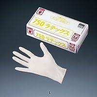 オカモト イージーグローブ ラテックス No.750 (粉付)(100枚入) L 全長23cm