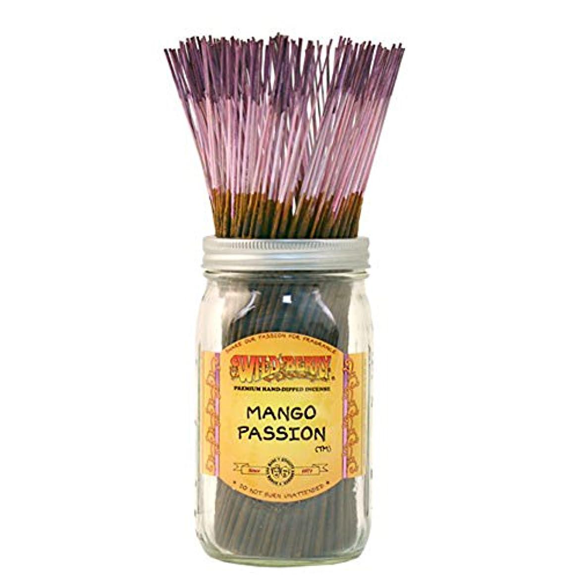 マイル用心するクリープWild Berry Mango Passion, Highly Fragranced Incense Sticksバルクパック、100ピース、11インチ