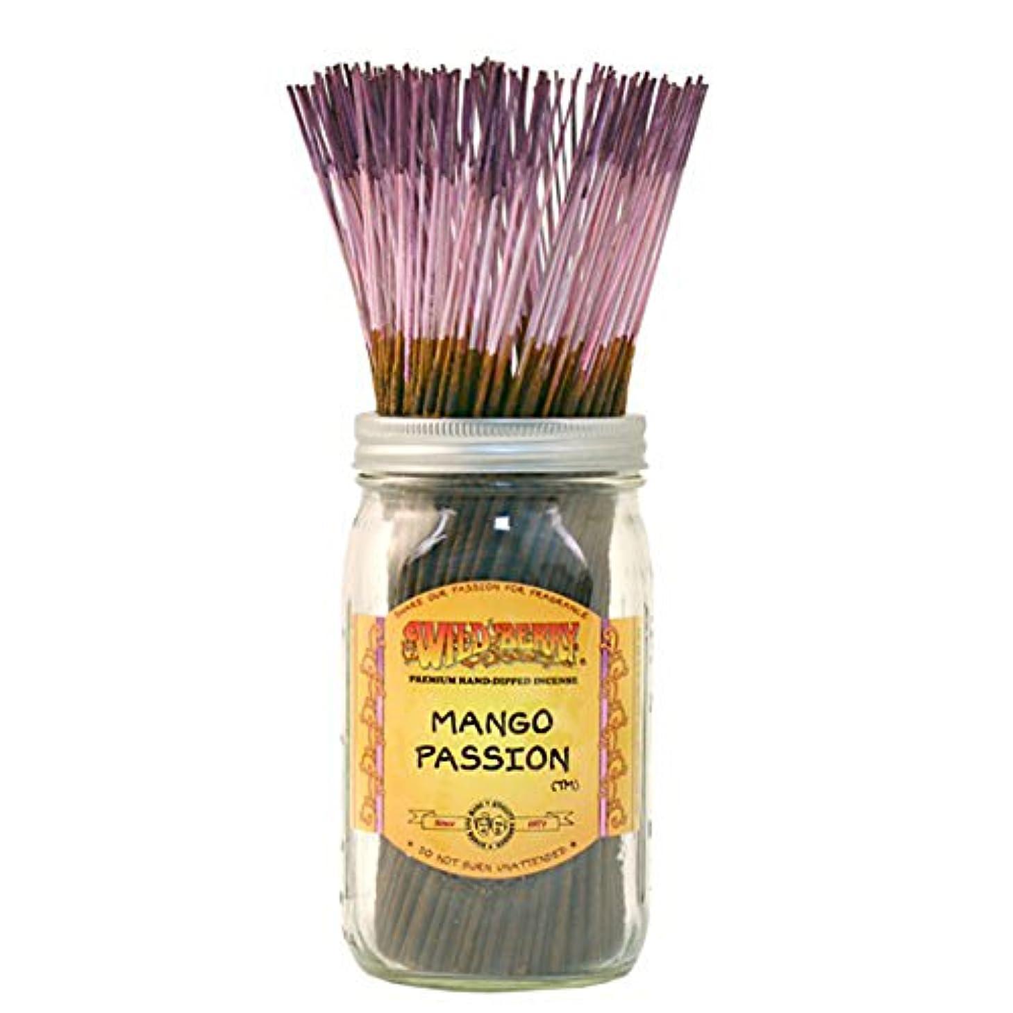 政権義務的ファンシーWild Berry Mango Passion, Highly Fragranced Incense Sticksバルクパック、100ピース、11インチ