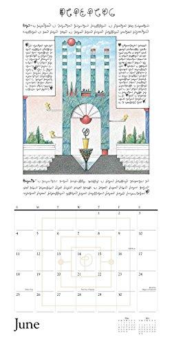 Codex Seraphinianus 2017 Wall Calendar (Square Wall)