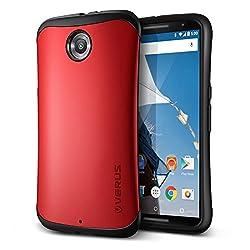 Nexus6 ケース VERUS HARD DROP 衝撃吸収 プラスチック × TPU 2層構造 ハイブリッド アーマー ケース for Google Nexus 6 クリムゾンレッド 【国内正規品】 保証書 兼 国内正規品証明書 付