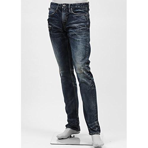 (ジミー タヴァニティ) JIMMY TAVERNITI ストレッチジーンズ 30サイズ LUCY SKINNY/REGULAR RISE/TAPERED LEG インディゴブルー [並行輸入品]