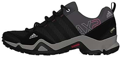 [アディダス] adidas トレッキングシューズ AX2 Gore-Tex W EO877 M22935 カーボン S14/ブラック/バヒアピンク S14 22.0
