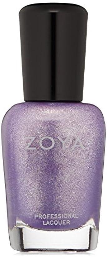 ZOYA ゾーヤ ネイルカラーZP722 Hudson ハドソン 15ml  AWAKEN 2014 Spring Collection オーキッドパープル マット?グリッター 爪にやさしいネイルラッカーマニキュア