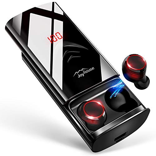 Joyhouse JP Bluetooth イヤホン LEDディスプレイ Hi-Fi 高音質 3Dステレオサウンド  B07RXPY1TJ 1枚目